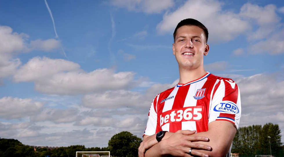 Kevin Wimmer Stoke city
