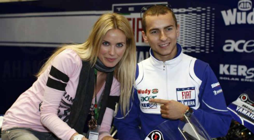 Elena Morali dan Jorge Lorenzo